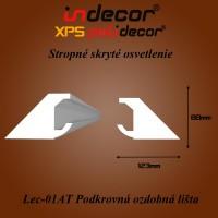 Lec-01AT Podkrovné ozdobné lišty 80x123 (01/A-T)