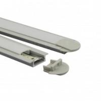 Alu koľajové profily pre LED pásy