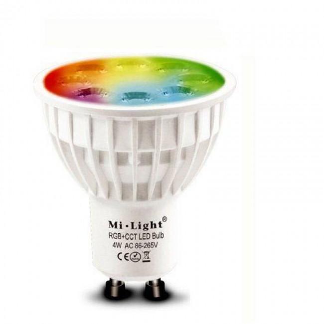 4W GU10 RGB+CCT  WifiLed žiarovka