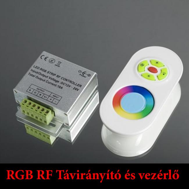IN-Touch-1 RGB led riadiaca jednotka a diaľkový ovládač
